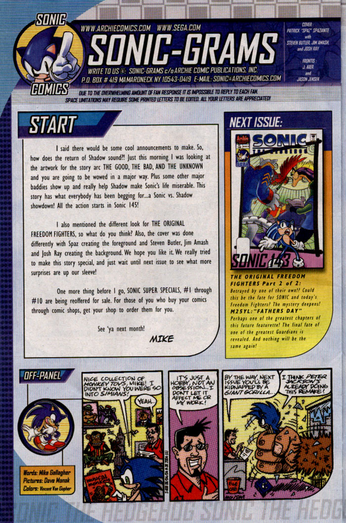 Read online Sonic The Hedgehog comic -  Issue #142 - 25