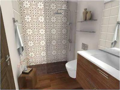 Compact Bathroom Layout Ideas