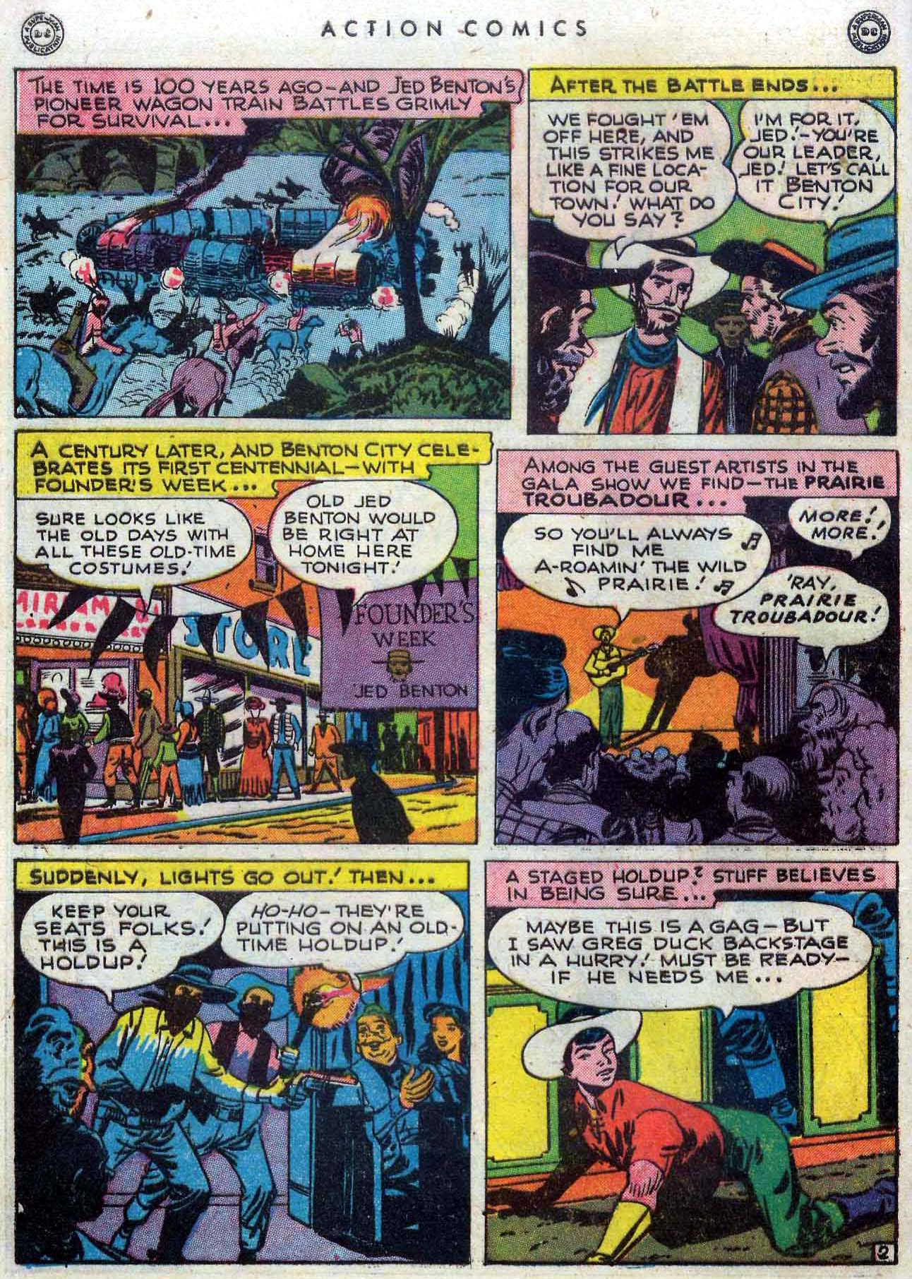 Read online Action Comics (1938) comic -  Issue #110 - 30