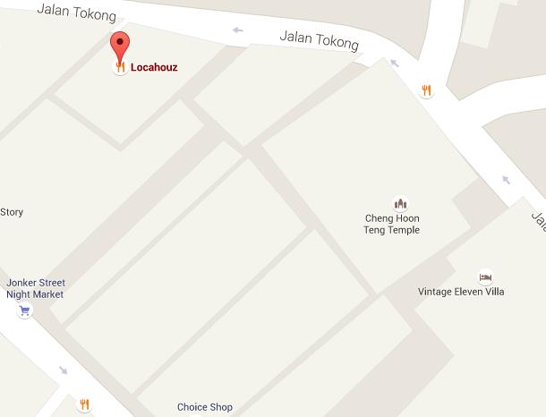 Locahouz Cafe Map