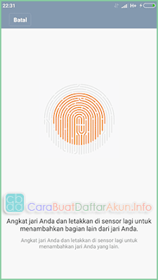 scan sidik jari xiaomi