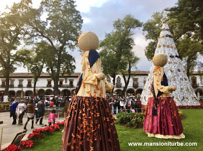 The Monarch Butterflies at the Monumental Nativity in Patzcuaro