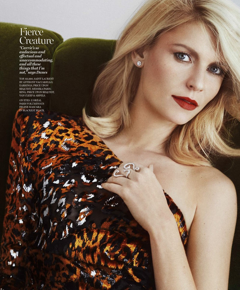 Claire Danes : marie claire US - February 2017 by Txema Yeste