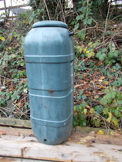Old water butt recycled to make Hedgehog House Green Fingered Blog