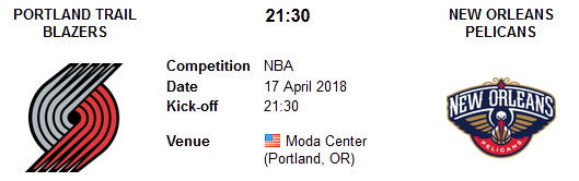 Portland Trail Blazers vs New Orleans Pelicans en VIVO