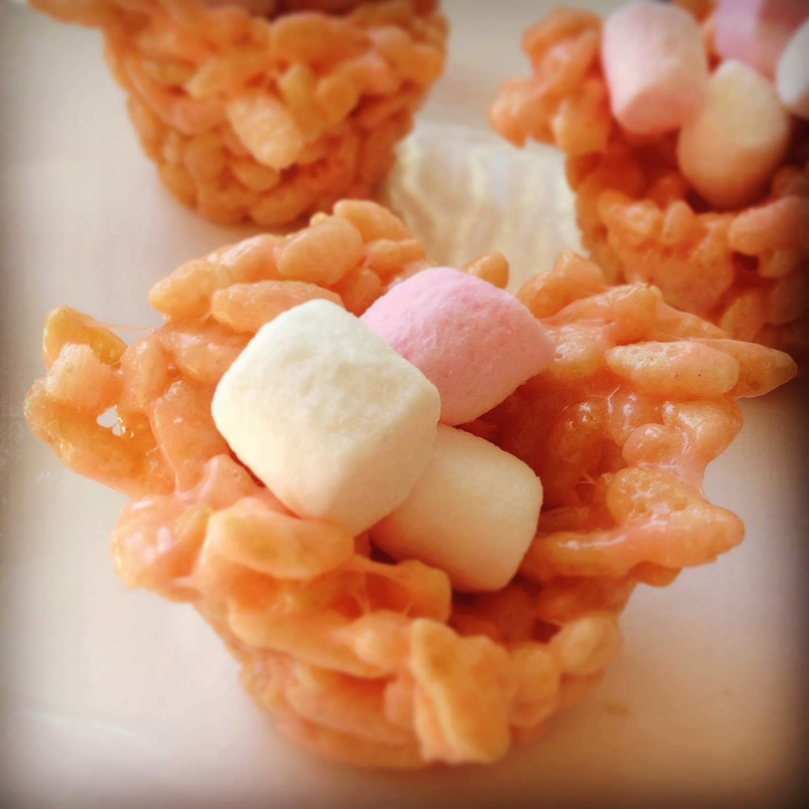 Easter Marshmallow Nests - Gluten-Free Recipe Credit: Lucy Corry/The Kitchenmaid