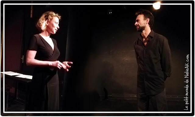 Florence Perrier et François Rabette dans une adaptation de Nadja
