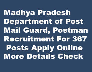 Madhya Pradesh Postman Recruitment