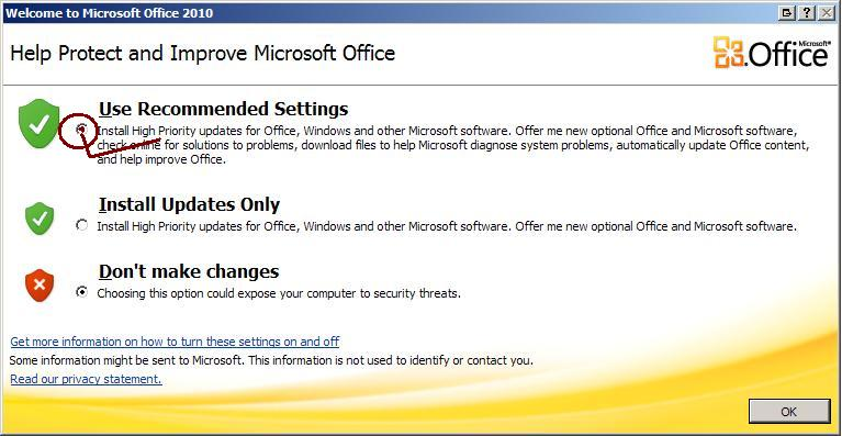 Help Protect and Improve Microsoft Office Pop-up   Jesoba.com: A Technology Blog
