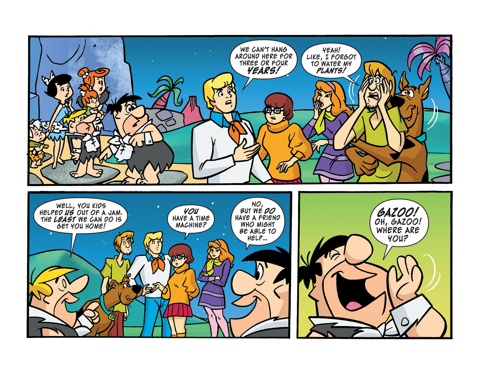 Read online Scooby-Doo! Team-Up comic -  Issue #14 - 16