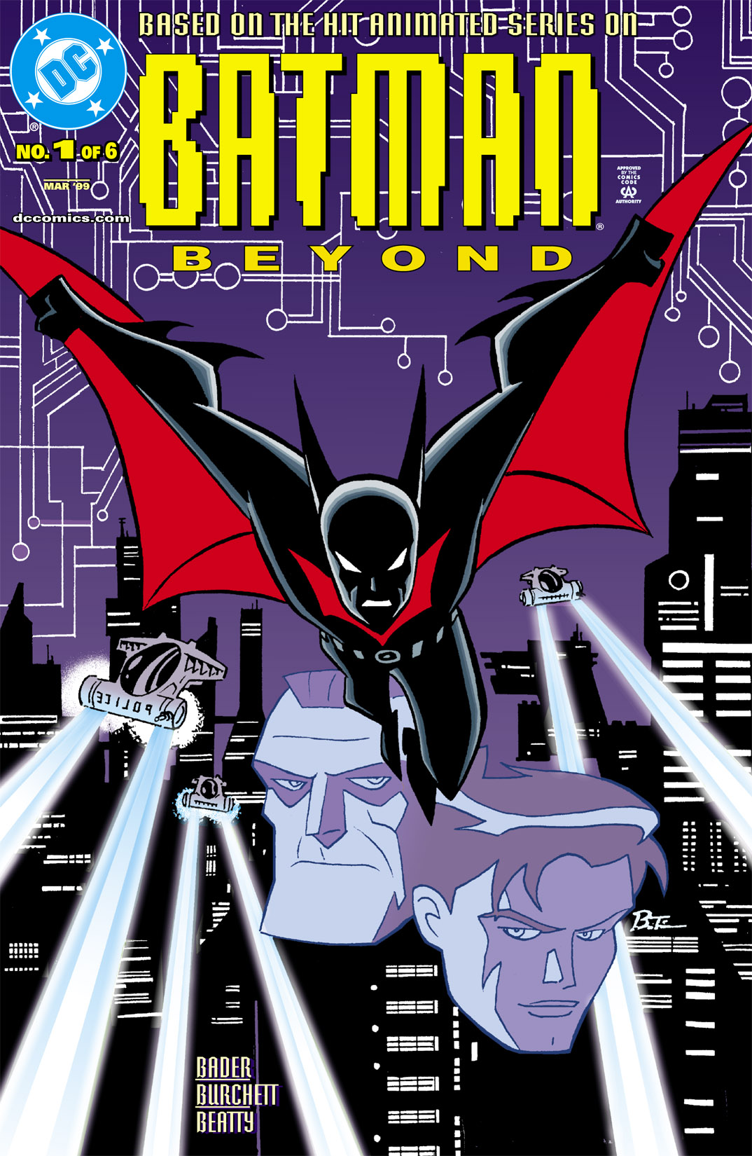 Batman Beyond [I] 1 Page 1