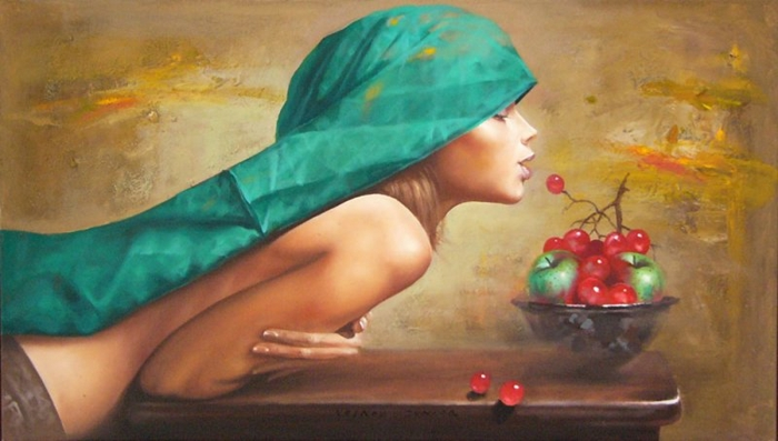 Dimitar Voinov Jr. 1971 ~ Figurative painter
