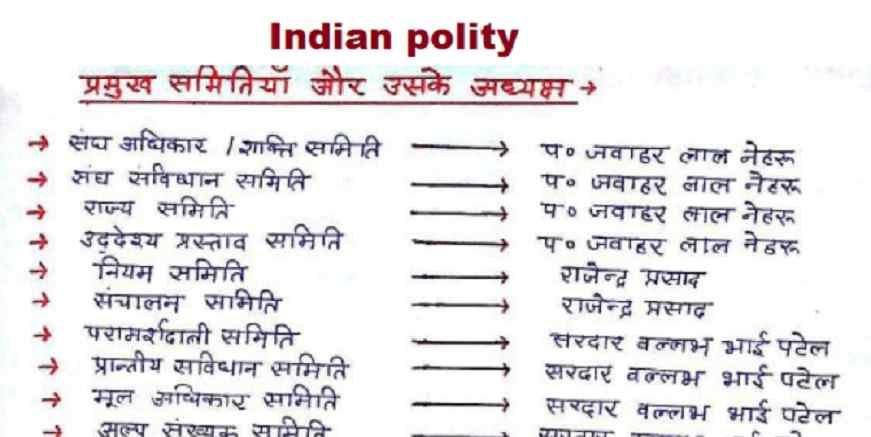 सम्पूर्ण भारतीय सविधान मात्र 50 पेजों
