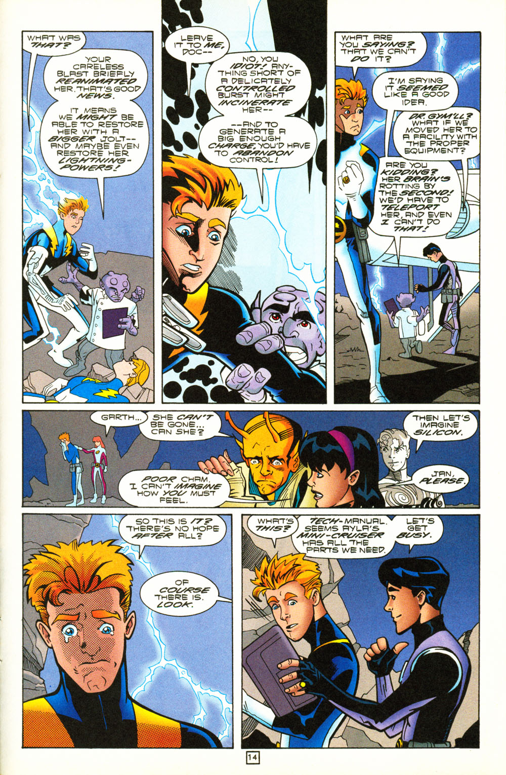 Legion of Super-Heroes (1989) 101 Page 14