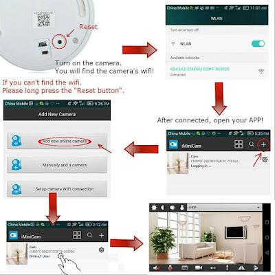 tangmi 39 s blog tangmi hd 1080p p2p kamera rauchmelder wifi kamera hause sicherheit berwachung. Black Bedroom Furniture Sets. Home Design Ideas