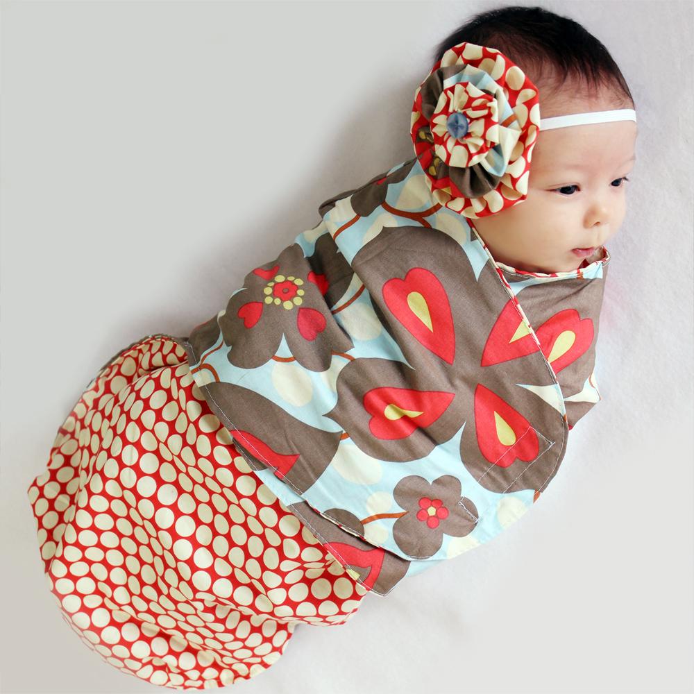 Mamma Can Do It Swaddling Blanket Pattern Finally A