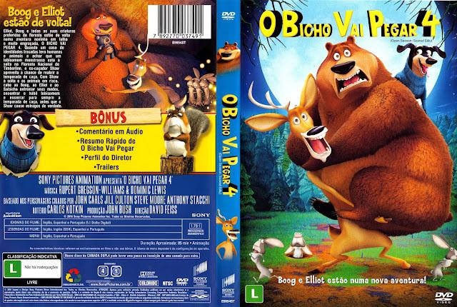 Capa DVD O Bicho Vai Pegar 4 (Oficial)