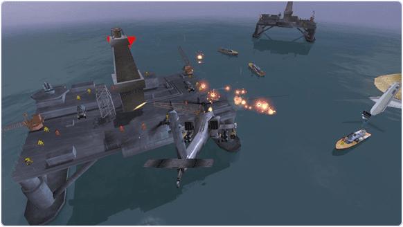 Gunship-Battle: Helicopter-3D