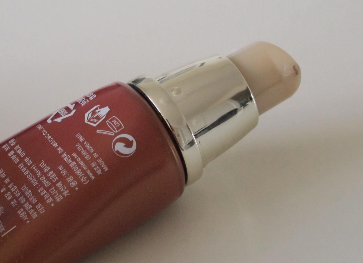 missha cover bb cream pump