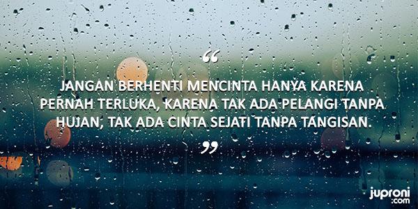 60 Kata Kata Caption Tentang Hujan dan Kenangan
