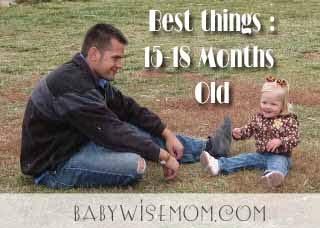 Best Things: 15-18 Months Old