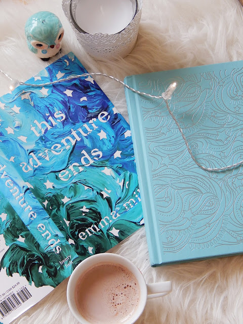 This Adventure Ends No Spoiler Book Review | sprinkledpages