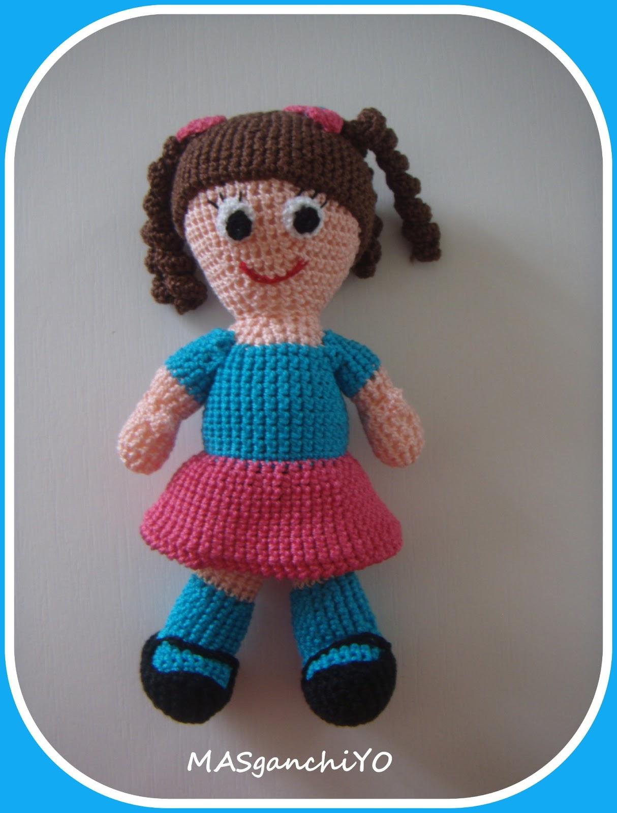 MASganchiYO: Muñequitas de crochet