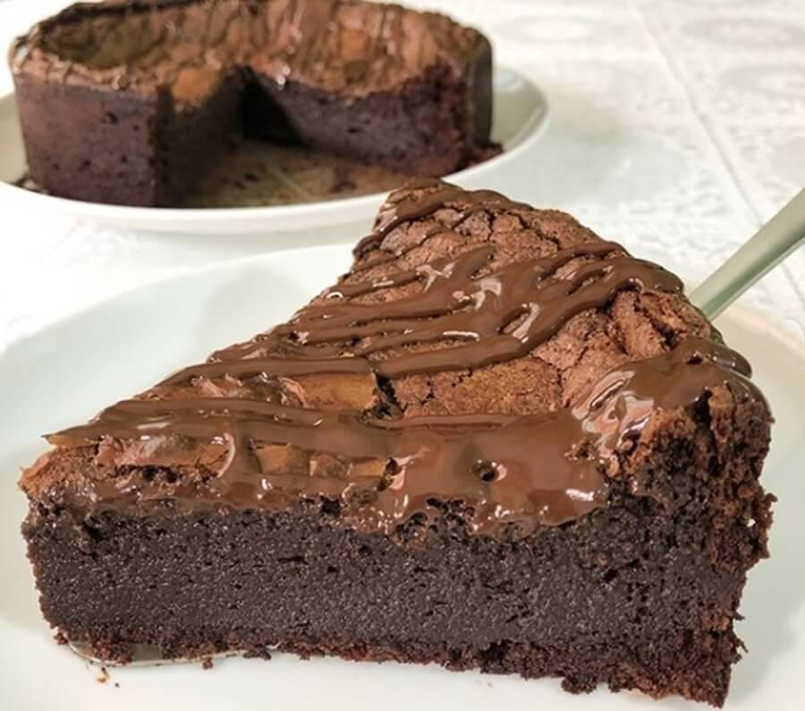 Torta de chocolate low carb