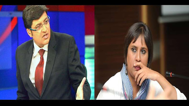 NDTV senior journalist Barkha Dutt wrote a Facebook post on Wednesday afternoon coming down heavily on Times Now editor-in-chief Arnab Goswami.   Accusing him of seeking to gag the media, she asked if he was a journalist and said she was ashamed to be from same industry as him.   She noted that while accusing a section of media as being pro-Pakistan, Arnab Goswami had been quiet on BJP and PDP alliance and Modi's own outreach to Pakistan.