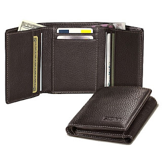 (One Day Deal) Tri Fold Genuine Wallet With box packing worth Rs.499 for Rs.124 (Rs.24 Shipping Charges Extra)