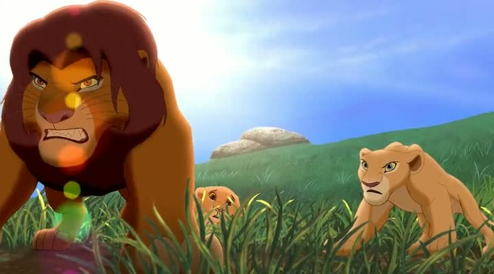 Screen Shot Of The Lion King 2 (1998) Dual Audio Movie 300MB small Size PC Movie