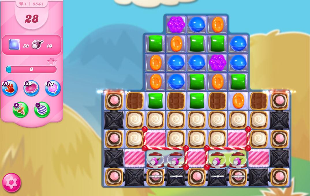 Candy Crush Saga level 6541