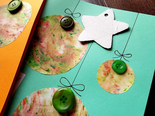 DIY. Zrób to sama. - Maria Szymańska - Egmont - jak zrobić papier marmurkowy - kartki świąteczne DIY - pakowanie prezentów - dekoracje świąteczne - do it yourself