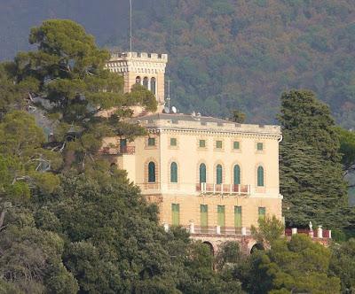 Villa Malta a/k/a Villa Pagana or Villa Spinola. San Michele di Pagana, Rapallo.