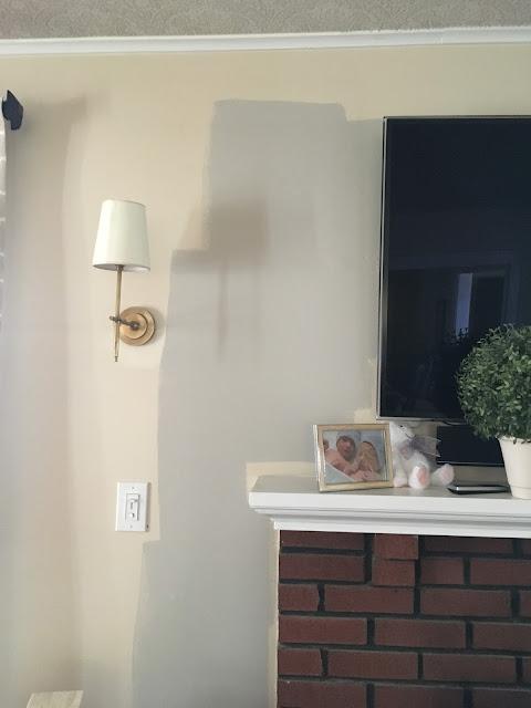 Living Room - Revere Pewter Test Sample