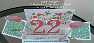 Stampin' Up! Susan Simpson Independent Stampin' Up! Demonstrator, Craftyduckydoodah!, Number of Years, Balloon Celebration,