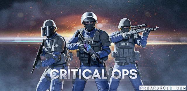 Critical Ops مهكرة