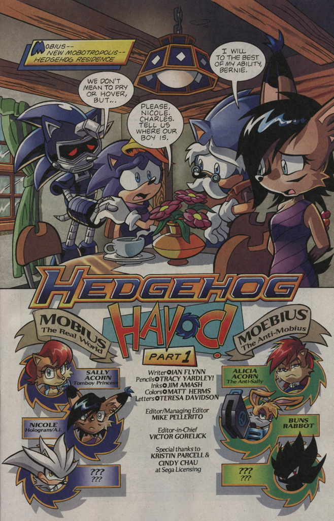 Read online Sonic The Hedgehog comic -  Issue #195 - 2