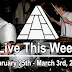 Live This Week: February 25th - March 3rd, 2018