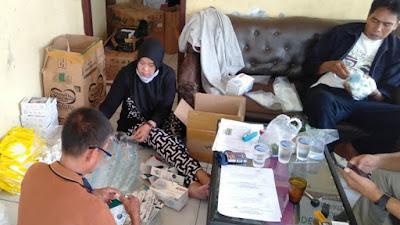 Jelang Pilkades Serentak, Panitia di Desa Margamulya Siapkan APD