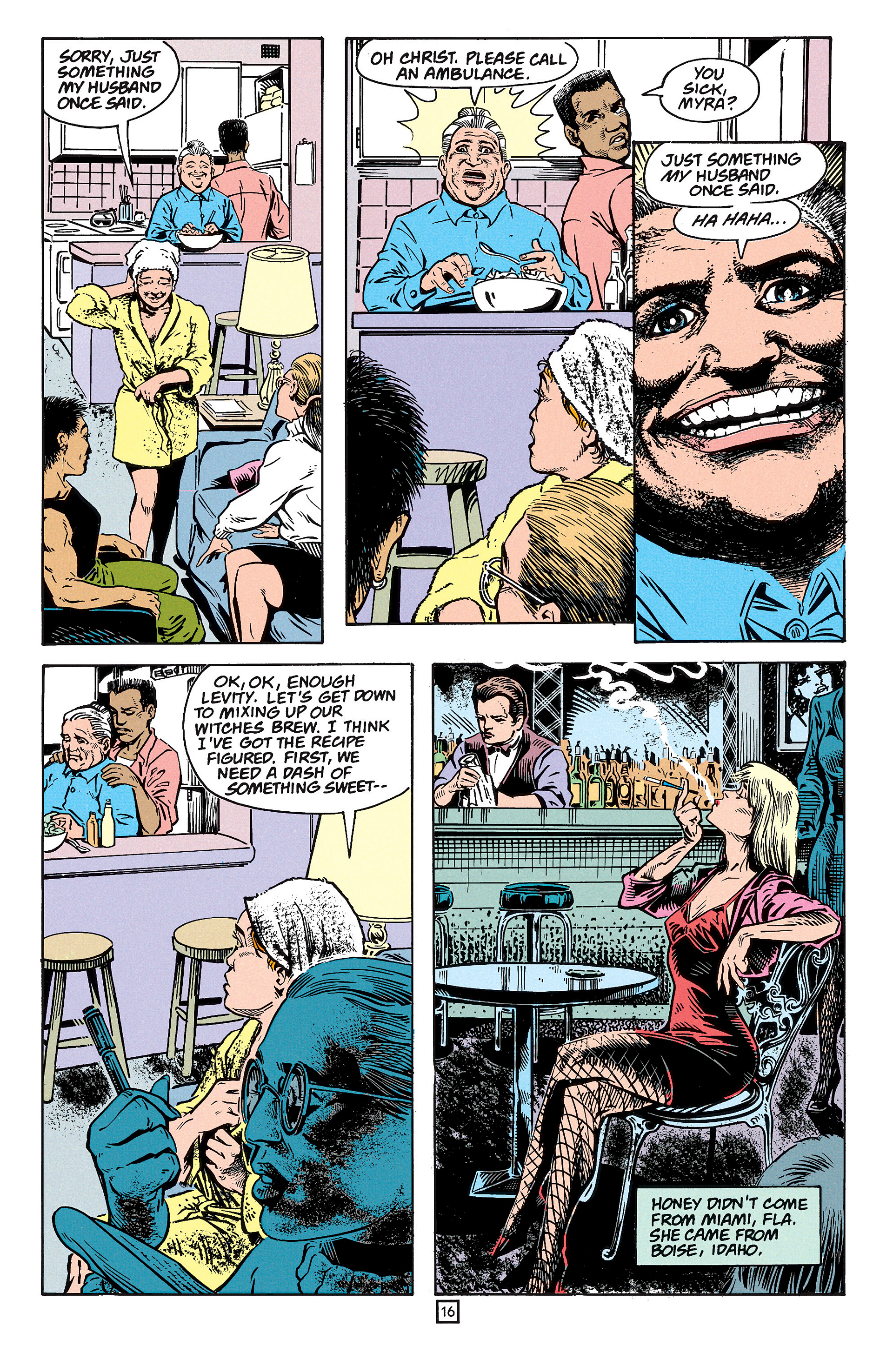 Read online Animal Man (1988) comic -  Issue #59 - 17