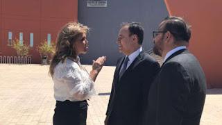 La Gobernadora y Alfonso Durazo: denuncia