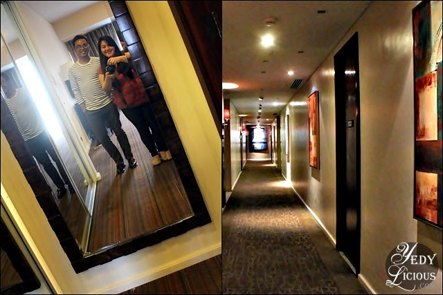 Mirror Selfie at Oakwood Manila