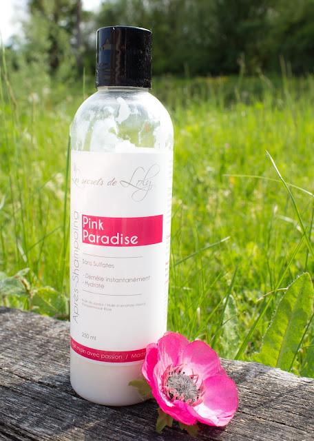 après shampoing pink paradise les secrets de loly