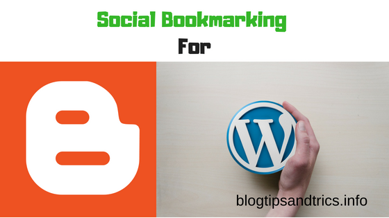 Social Bookmarking For Wordpress And Blogger