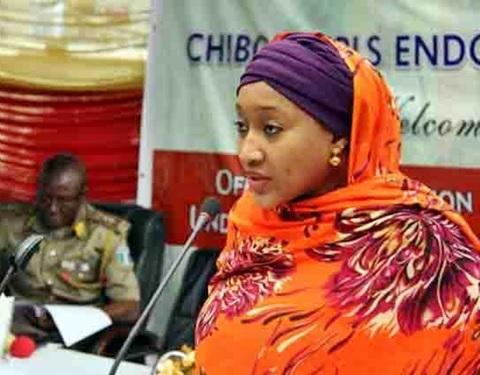 President Buhari's Daughter Lambasts Oby Ezekwesili Over Chibok Girls' Franchise Claim