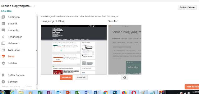 Cara Mengubah Template Blogspot dengan Mudah dan  Cepat 3