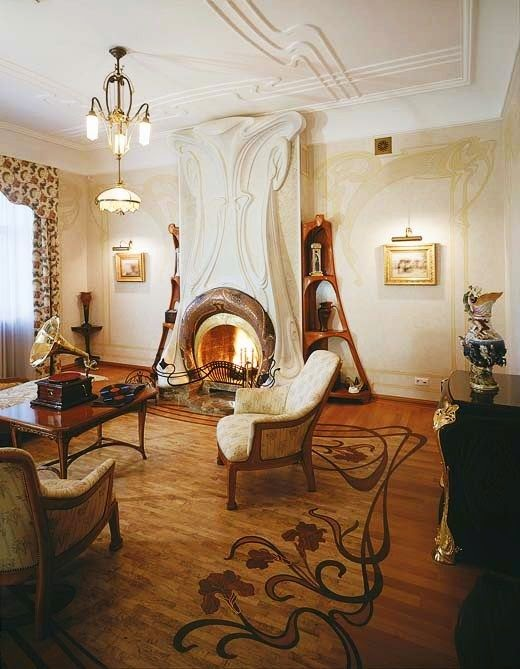 Nani Design Studio Art Nouveau Interior Design