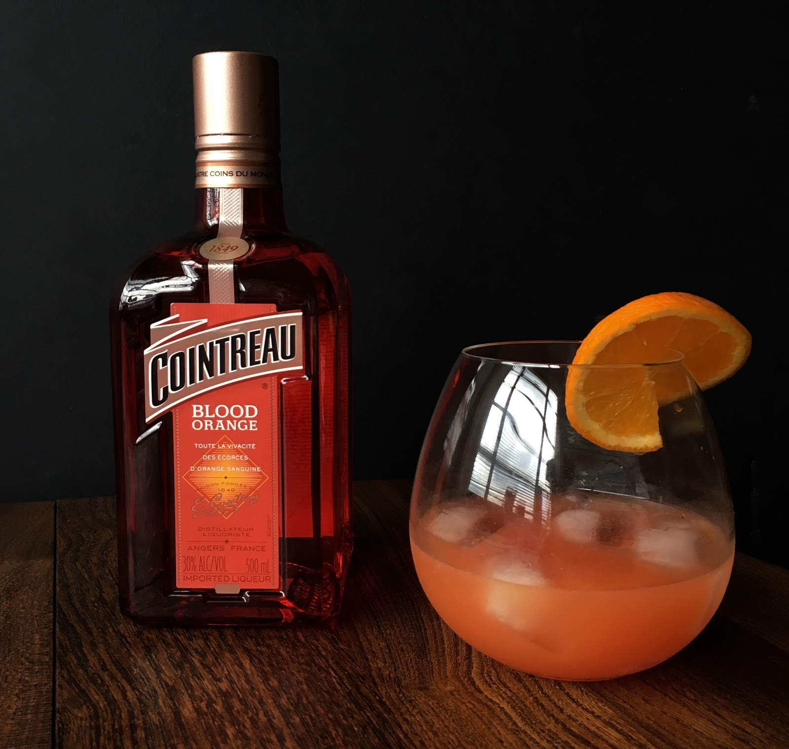 Cointreau blood orange hot and chilli for Cointreau mixed drinks