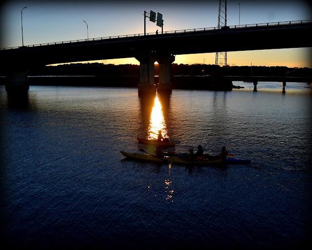 Sunset, North River, Redmond Park, Salem, Massachusetts